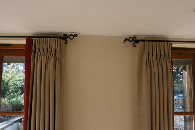 Curtain Poles | Little Duck Forge